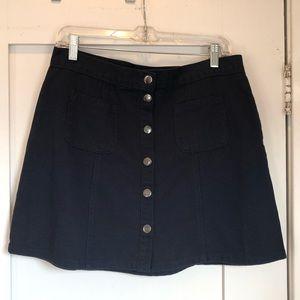 BDG Urban Outfitters Navy Blue Denim Skirt
